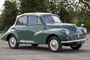 1956 Morris Minor Splitscreen Convertible SOLD