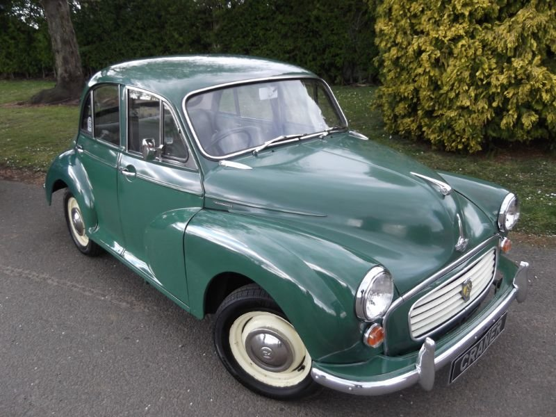 1966 Morris Minor SOLD (picture 1 of 6)