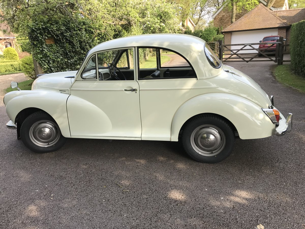 1970 Morris minor 1000 2 door saloon For Sale (picture 1 of 6)