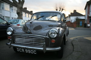 "1963 Morris Minor 1000! ""April"" * 2 owners* For Sale"