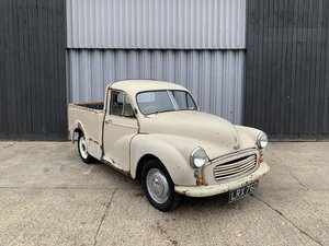 1955 Morris minor split screen pickup *to be auctioned* SOLD