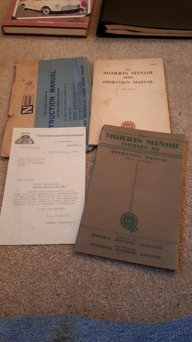 1955 Split Screen Morris Minor SOLD (picture 6 of 6)