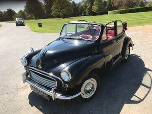 1958 Morris Minor Convertible - genuine factory For Sale