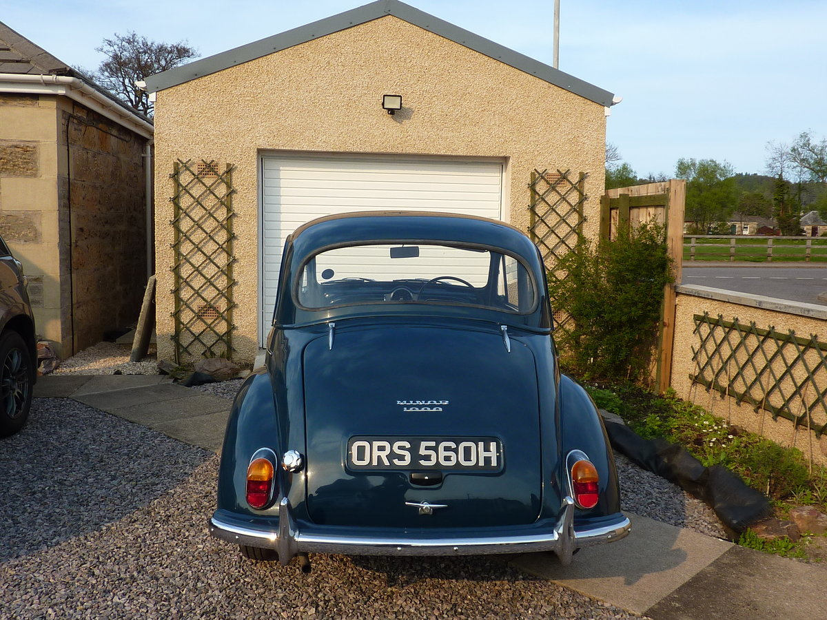 1970 Morris Minor 1000 SOLD (picture 4 of 6)