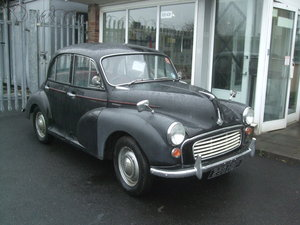 1962 BLACK 4 DOOR SALOON, 1098 ENGINE SOLD