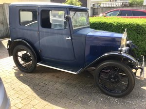 1929 Morris Minor OHC Fabric Saloon For Sale