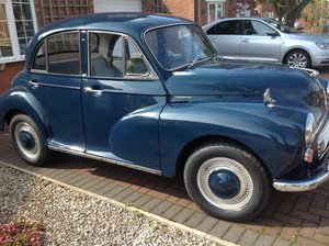 Morris Minor 1968 on the road & in use For Sale