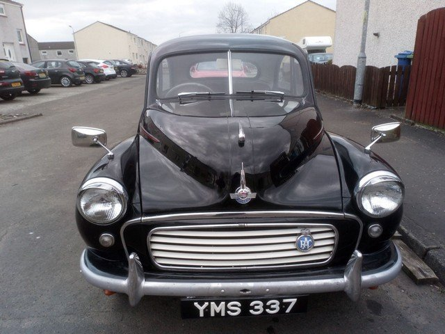 1956 Morris Minor at Morris Leslie Classic Auction 25th May SOLD by Auction (picture 1 of 6)
