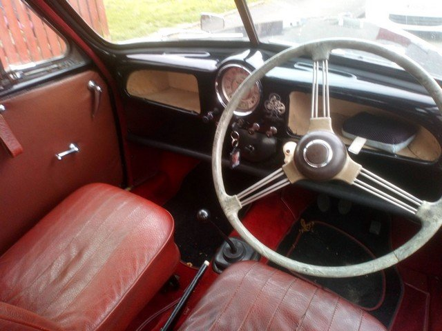 1956 Morris Minor at Morris Leslie Classic Auction 25th May SOLD by Auction (picture 3 of 6)