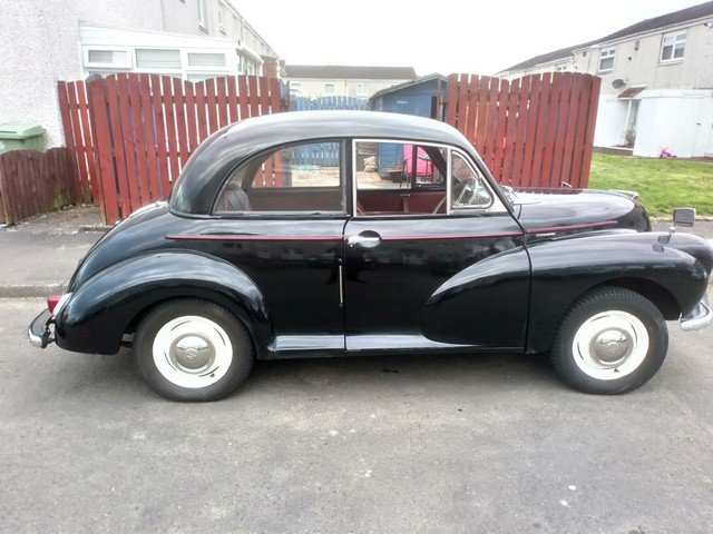 1956 Morris Minor at Morris Leslie Classic Auction 25th May SOLD by Auction (picture 4 of 6)