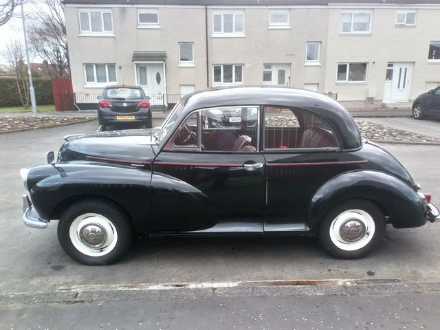 1956 Morris Minor at Morris Leslie Classic Auction 25th May SOLD by Auction (picture 5 of 6)