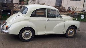 1968 Recently Refurbished Morris Minor