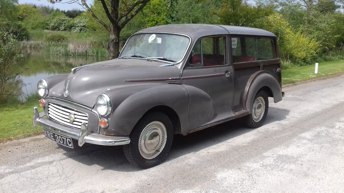 1965 MORRIS MINOR TRAVELLER ~ GARAGE FIND ~ RUNS & DRIVES! SOLD (picture 1 of 6)