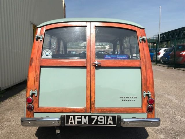 1963 Morris Minor Traveller For Sale (picture 4 of 6)