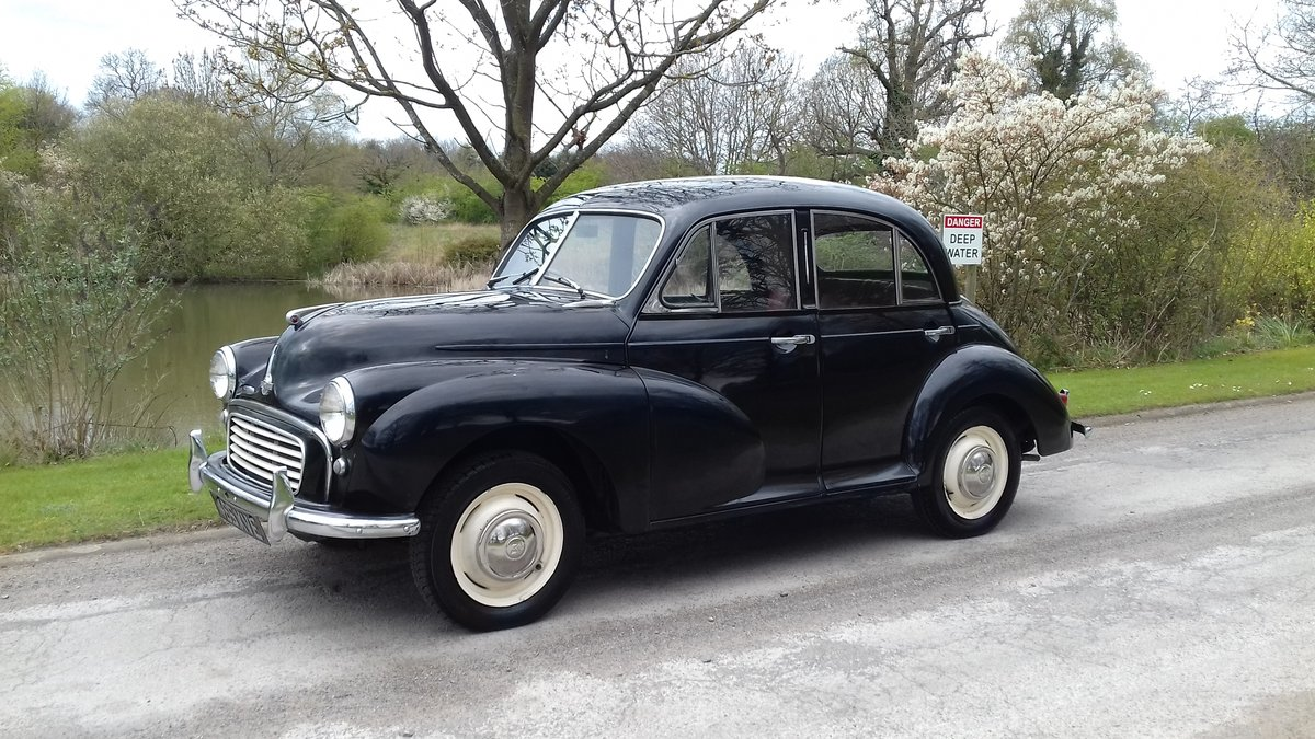 1956 MORRIS MINOR 'SPLIT SCREEN'  ~ JUST ARRIVED!! SOLD (picture 1 of 6)