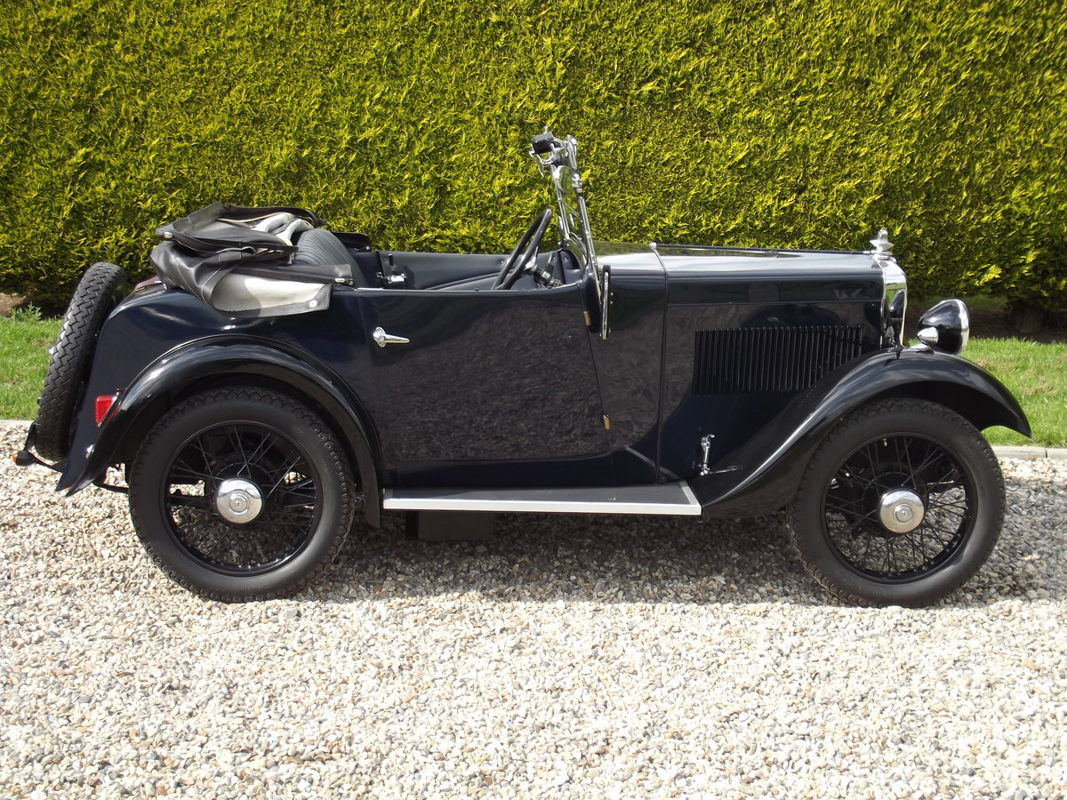 1934 Morris Minor Two Seater, the best available For Sale (picture 1 of 6)