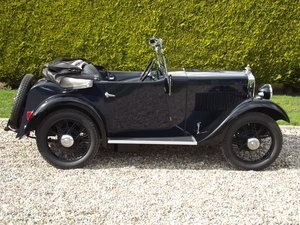 1934 Morris Minor Two Seater SOLD