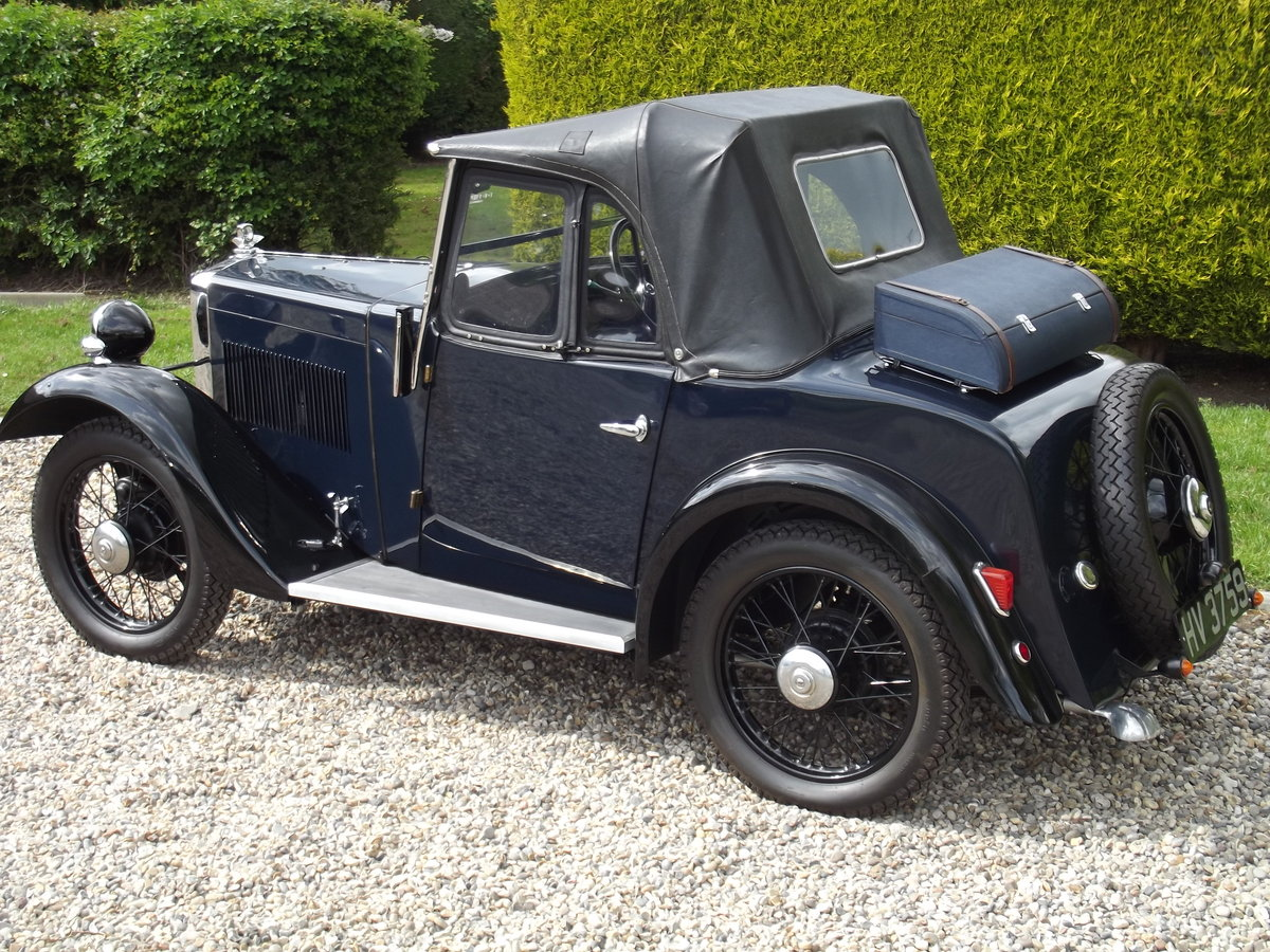 1934 Morris Minor Two Seater, the best available For Sale (picture 3 of 6)