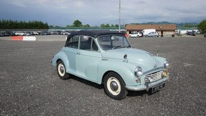 1965 Morris Minor Convertible For Sale by Auction