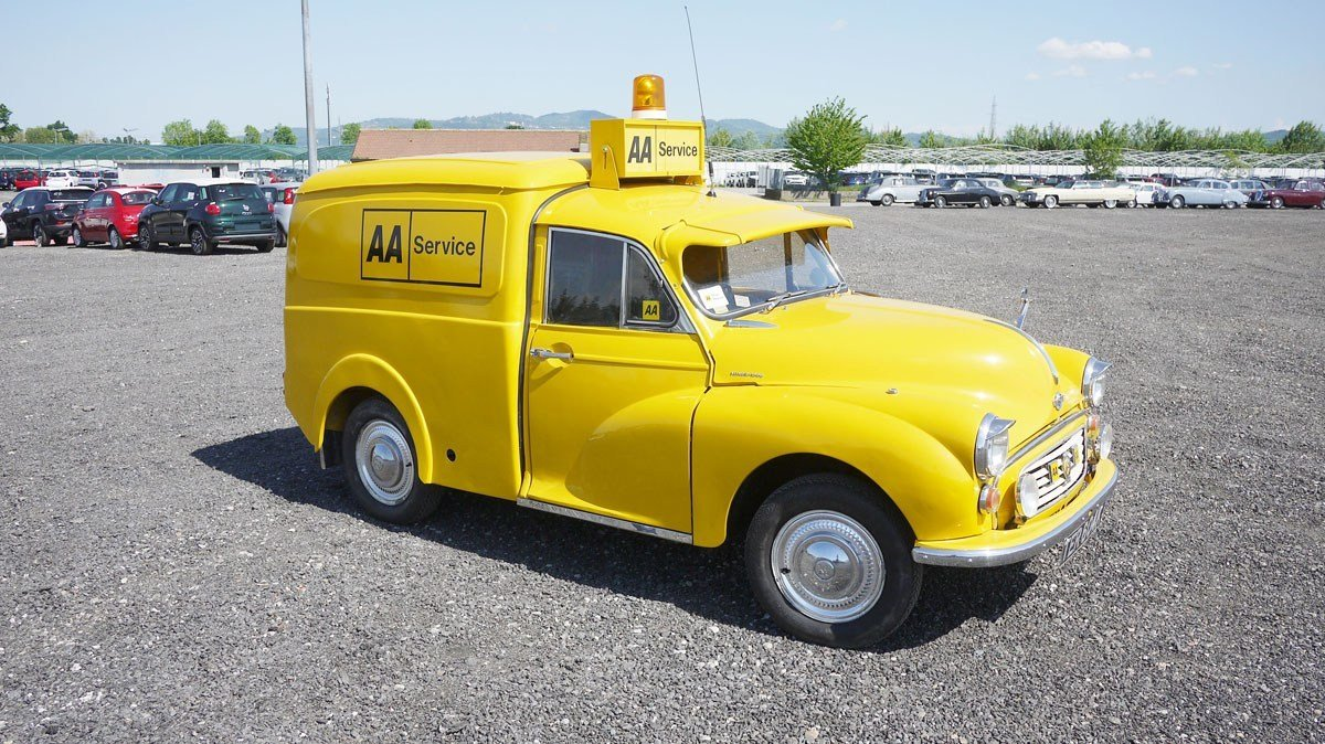 1972 Morris Minor Van For Sale by Auction (picture 1 of 4)