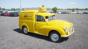 1972 Morris Minor Van For Sale by Auction