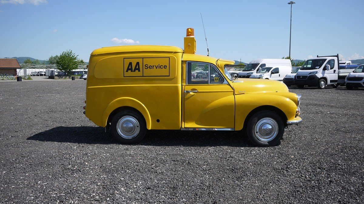1972 Morris Minor Van For Sale by Auction (picture 2 of 4)