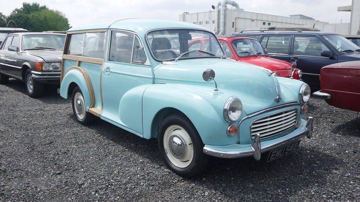 1964 Morris Minor Traveller For Sale by Auction (picture 1 of 5)