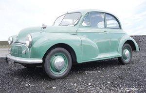 1952 Morris Minor Split Window For Sale by Auction