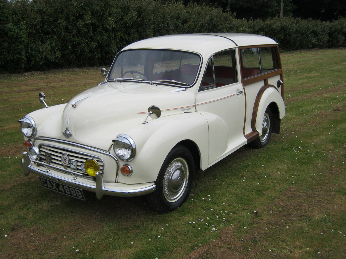 1964 MORRIS MINOR 1000 TRAVELLER. 2 OWNS 36 YEARS. DISCS. For Sale (picture 2 of 6)