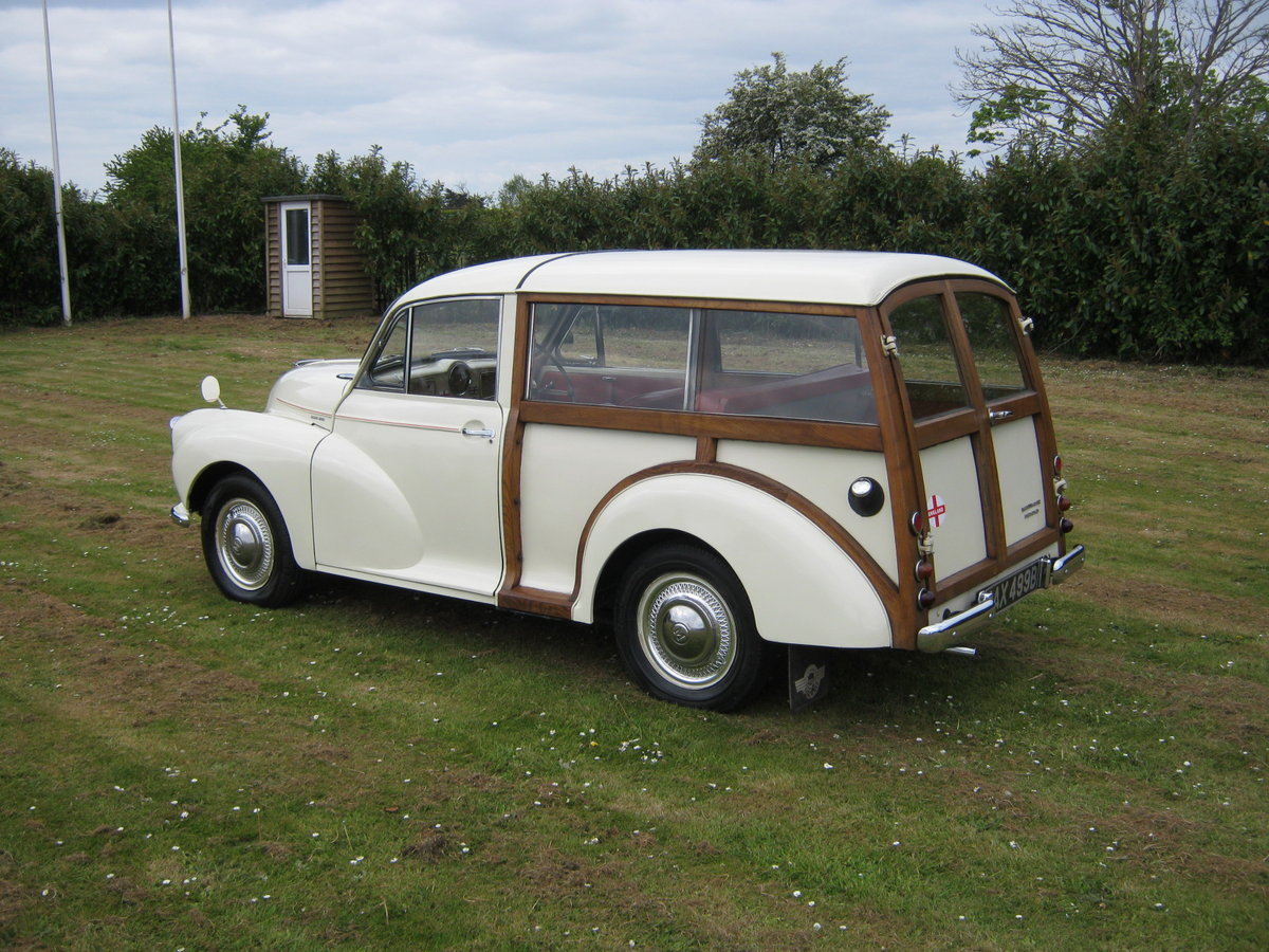 1964 MORRIS MINOR 1000 TRAVELLER. 2 OWNS 36 YEARS. DISCS. For Sale (picture 3 of 6)