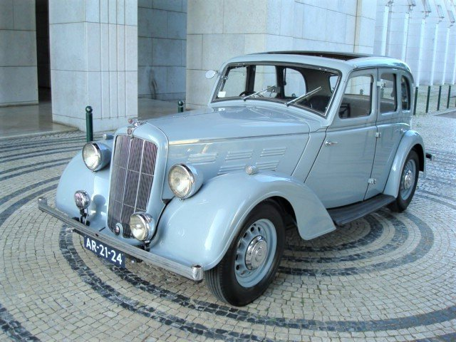 1937 Morris 14/6 Series III Saloon For Sale (picture 1 of 6)