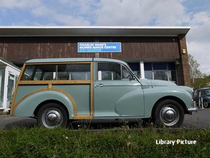 1966 SMOKE GREY TRAVELLER. NEW RESPRAY BEING CARRIED OUT SOLD