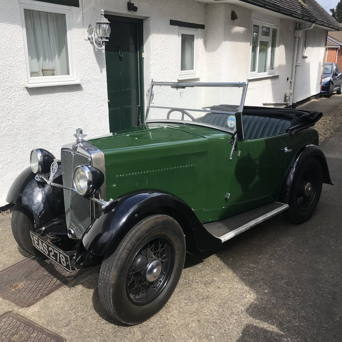 1933 Morris Minor 2 Seater For Sale (picture 1 of 6)