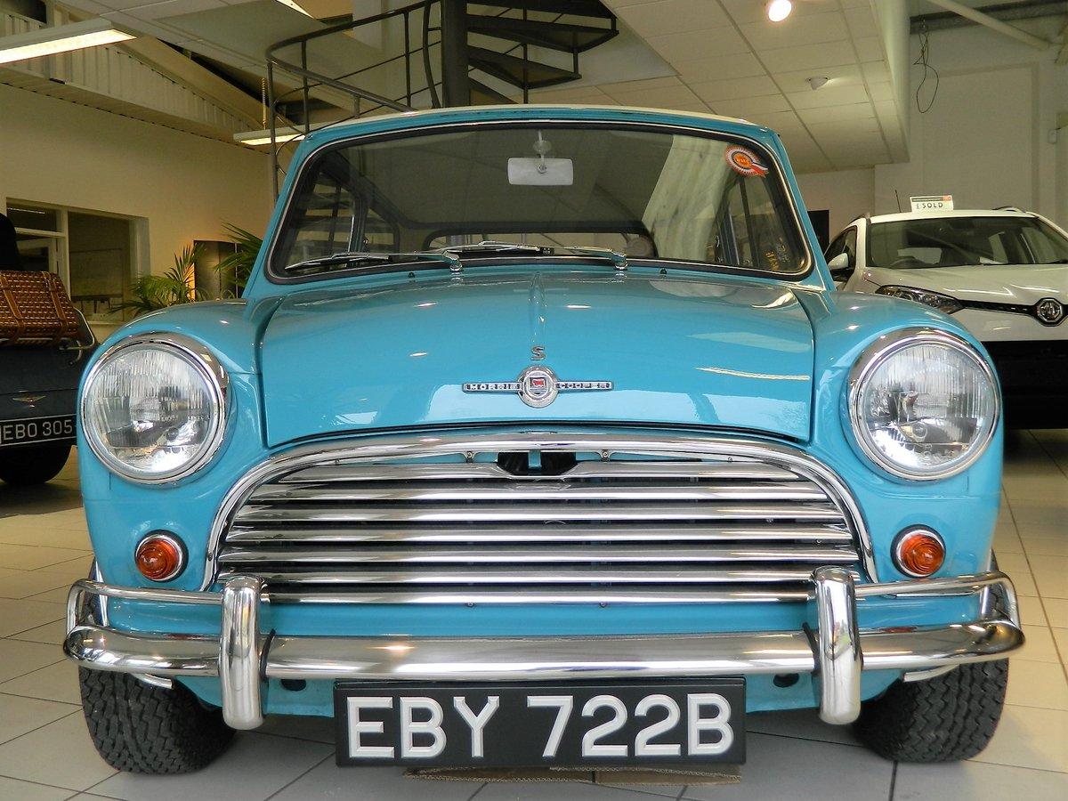1964 MORRIS MINI 1.3 MINI COOPER S For Sale (picture 2 of 6)