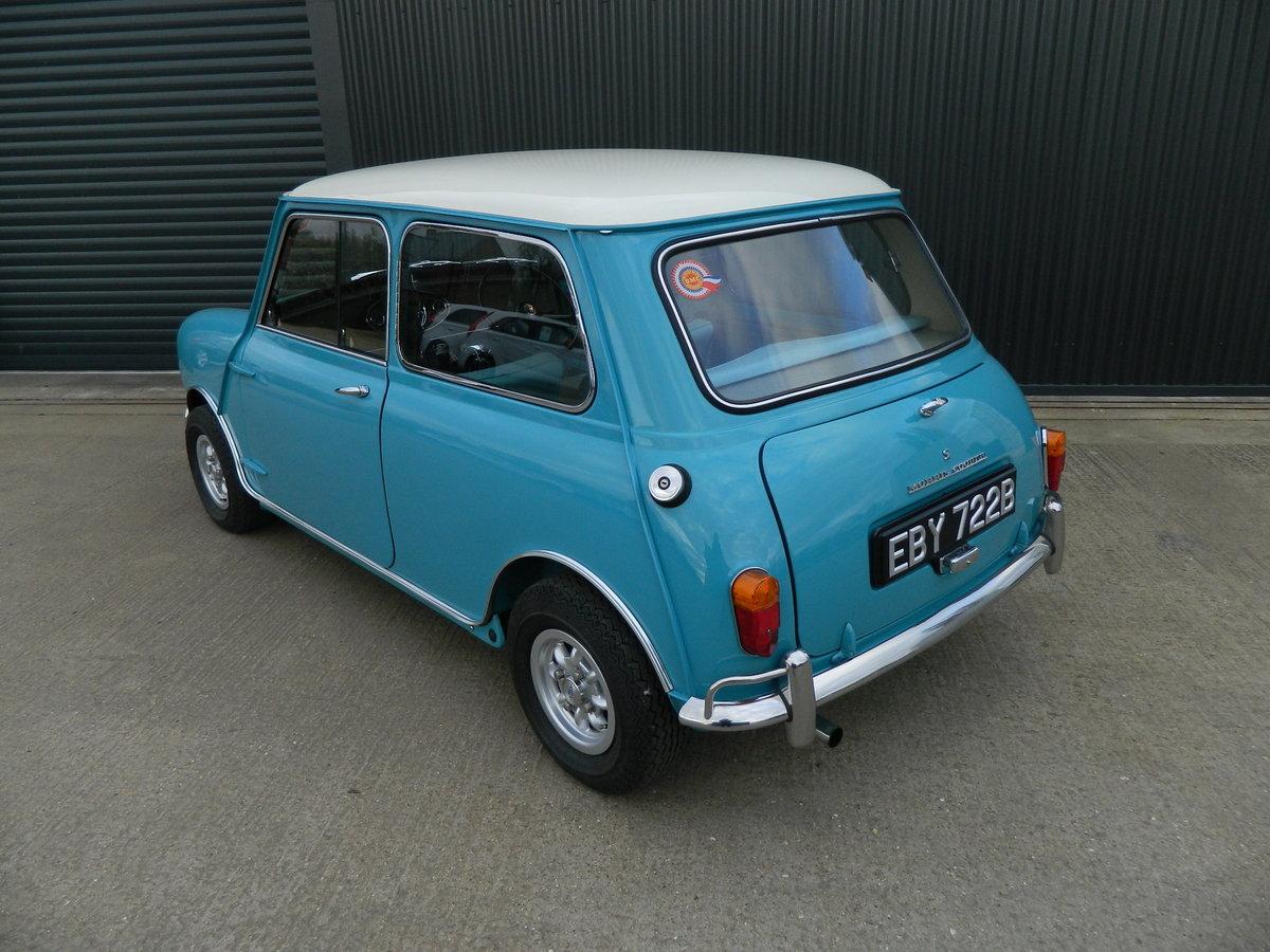 1964 MORRIS MINI 1.3 MINI COOPER S For Sale (picture 3 of 6)