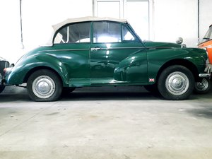 1962 MORRIS MINOR DECAPOTABLE SOLD by Auction