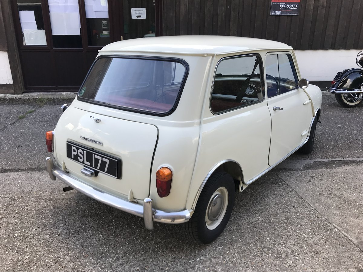 1961 Morris Mini MK1 1959 848cc - Beautiful Restored Example For Sale (picture 3 of 6)
