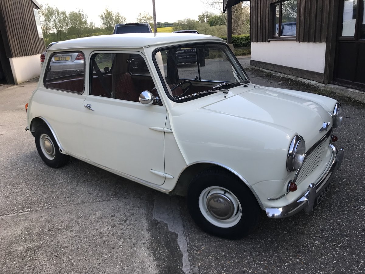 1961 Morris Mini MK1 1959 848cc - Beautiful Restored Example For Sale (picture 4 of 6)