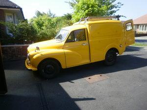 1969 ex gpo telephones linesman van For Sale