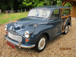 1968 Morris Minor 1000 Traveller (Card Payments Accepted) SOLD