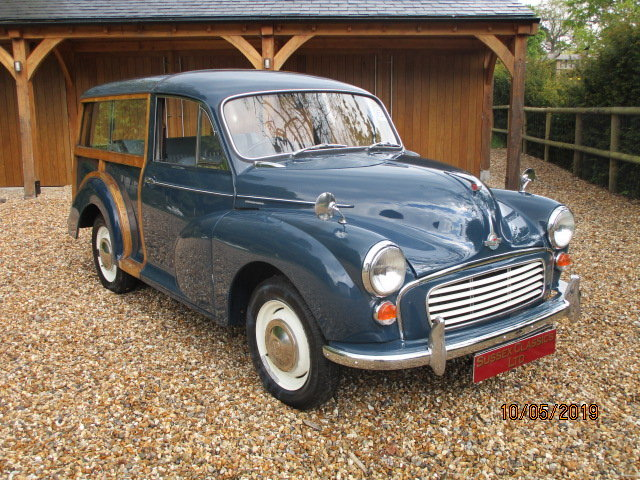 1968 Morris Minor 1000 Traveller (Card Payments Accepted) SOLD (picture 2 of 6)