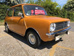 1974 Morris Mini Clubman 1000cc. Only 51k. Very rare. For Sale