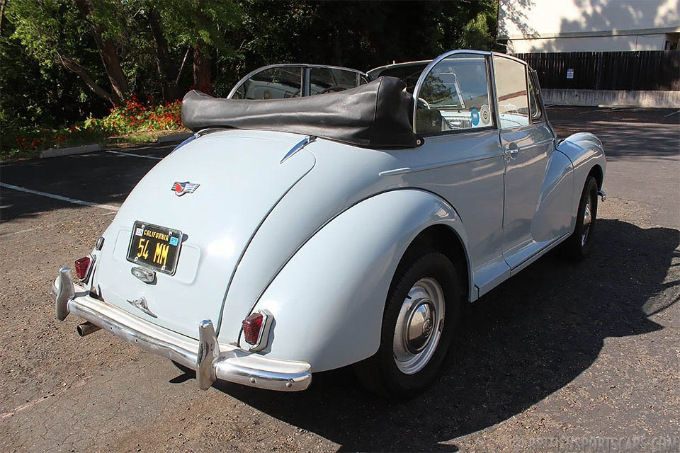 1954 Morris Minor 1000 Convertible = Clean Grey $15.9k For Sale (picture 2 of 6)