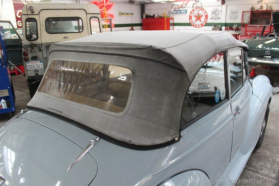 1954 Morris Minor 1000 Convertible = Clean Grey $15.9k For Sale (picture 3 of 6)