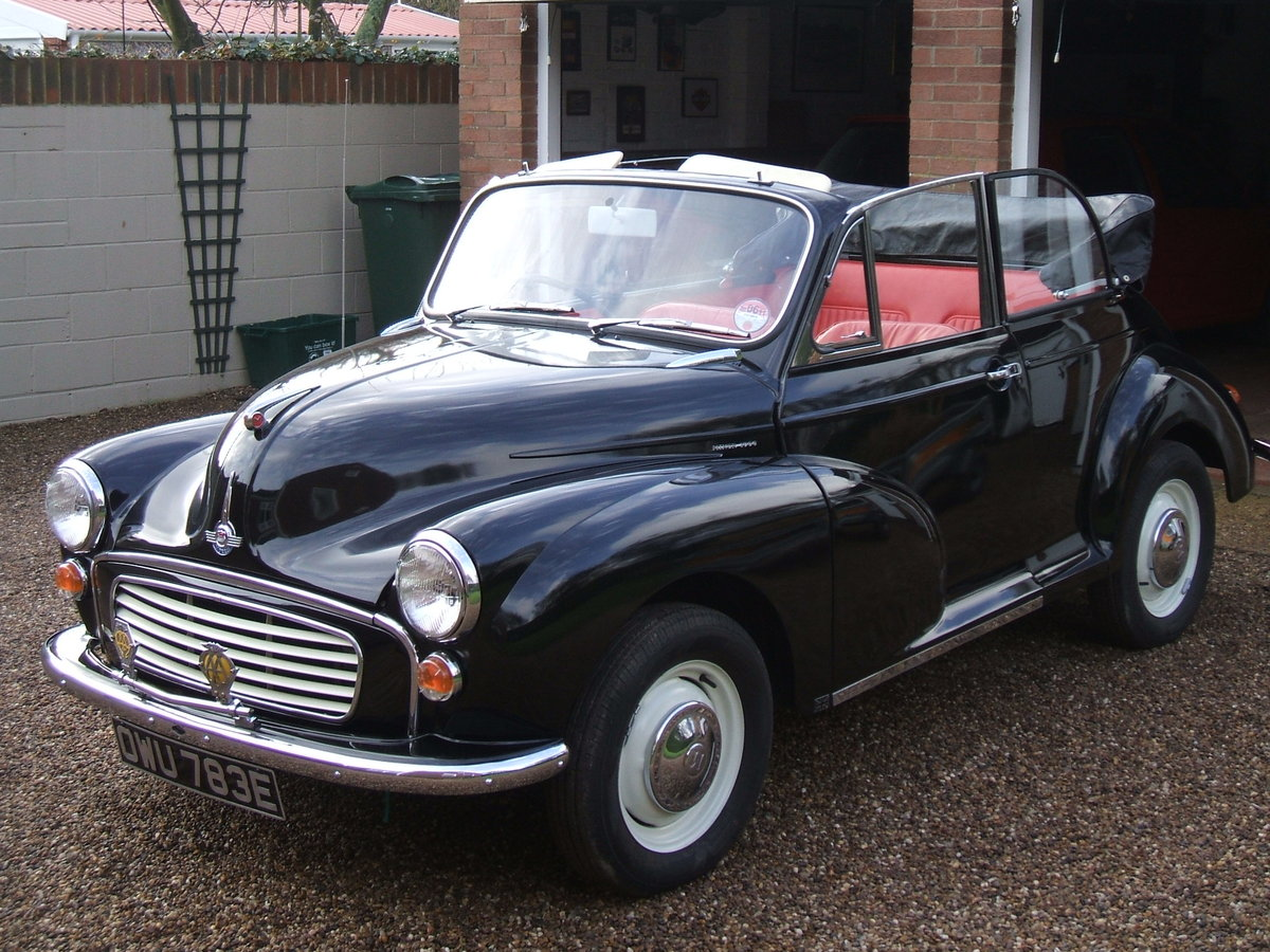 1967 Morris Minor Convertible For Sale (picture 1 of 6)