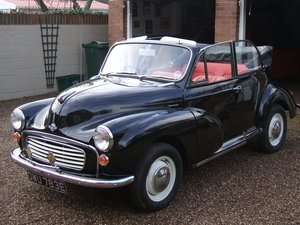 1967 Morris Minor Convertible For Sale