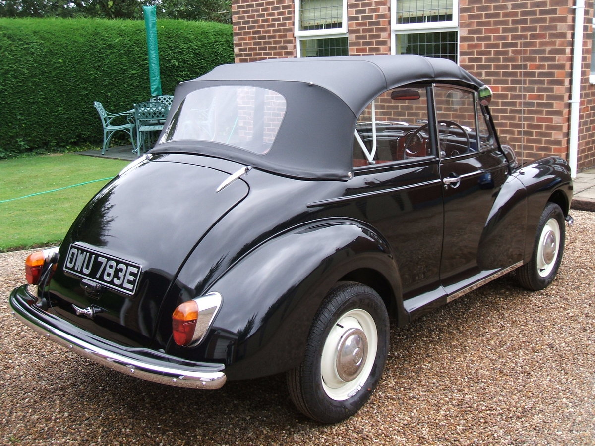 1967 Morris Minor Convertible For Sale (picture 2 of 6)