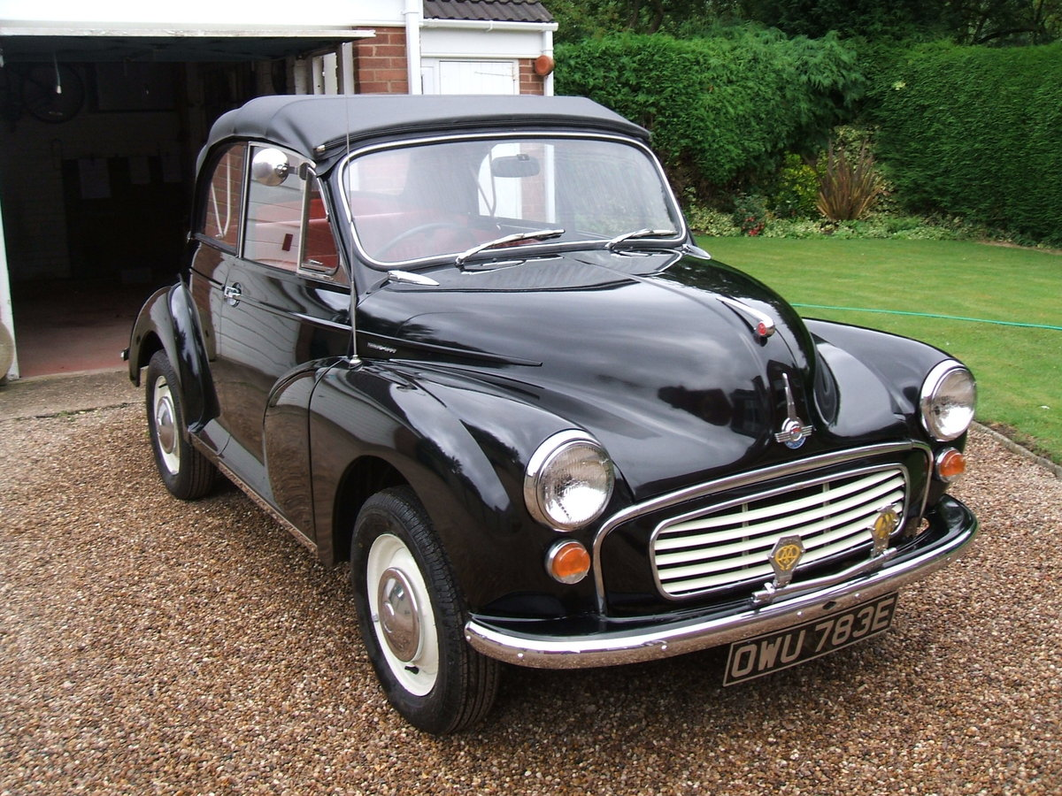 1967 Morris Minor Convertible For Sale (picture 3 of 6)