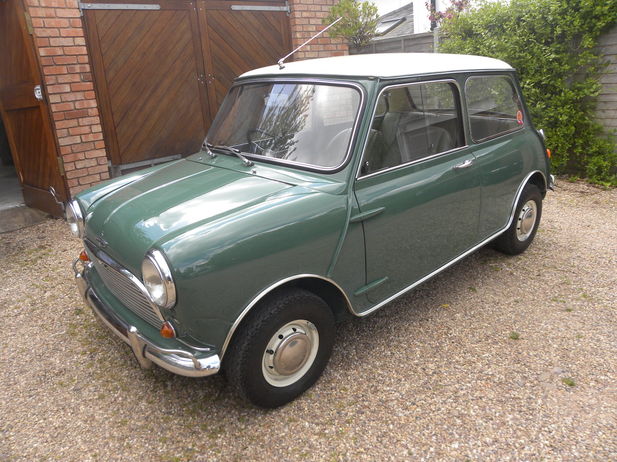 1966 MORRIS MINI COOPER 1275 S MK I  For Sale (picture 1 of 6)