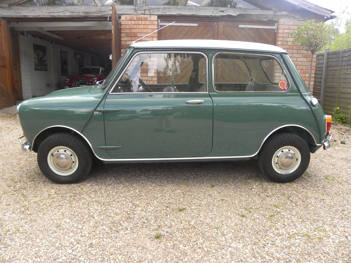 1966 MORRIS MINI COOPER 1275 S MK I  For Sale (picture 2 of 6)